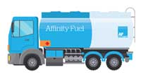 Affinity fuel truck
