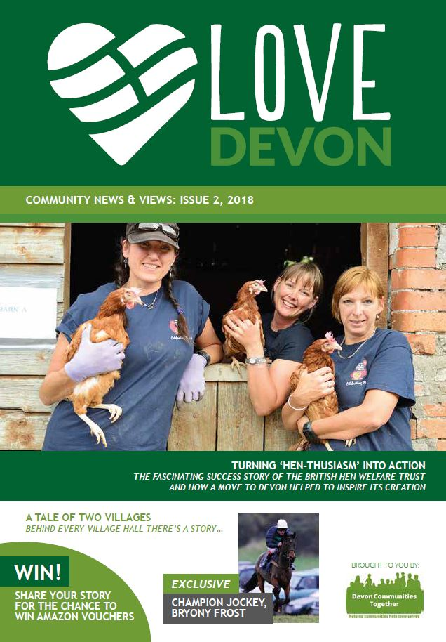 Love Devon magazine cover