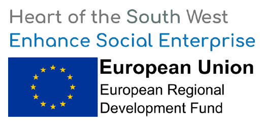 Enhance social enterprise ERDF flag logo