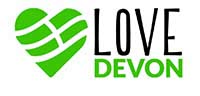 Love devon logo