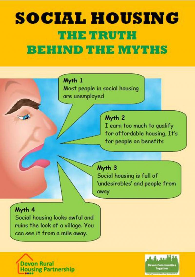Mythbusting social housing front cover