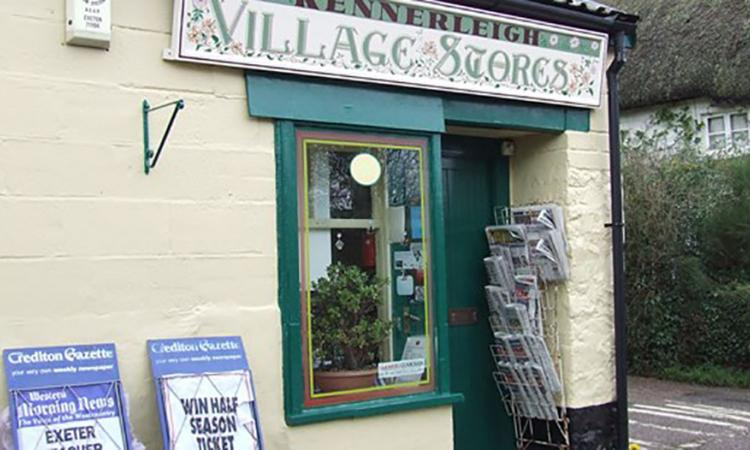 Picture of Kennerleigh community shop from outside