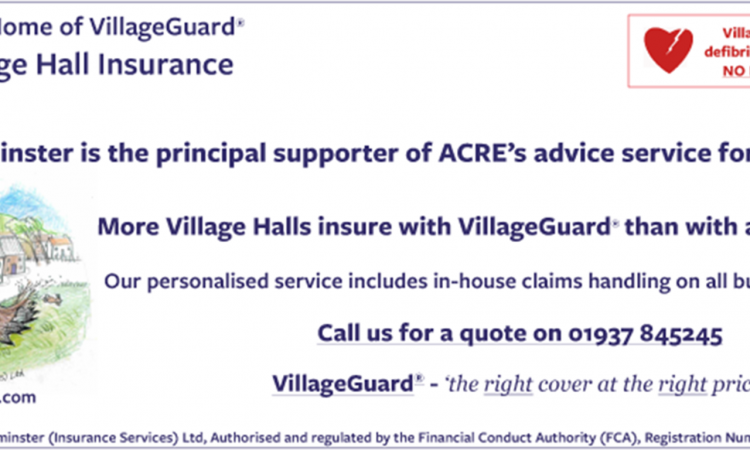 advert for villiage gaurd insurance