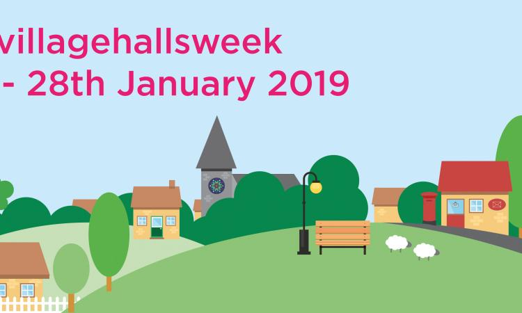 Village Halls Week graphic