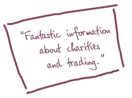 """Fantastic information about charities and trading."""