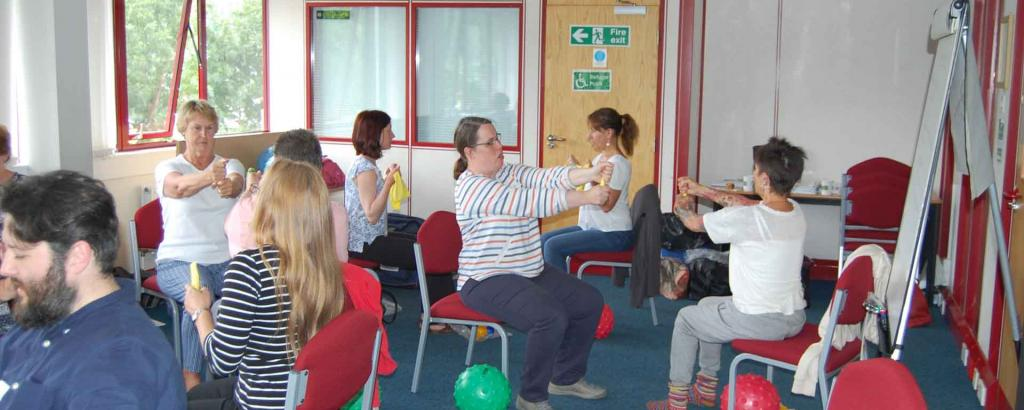 Seated Vitality Training Devon Community Learning Academy